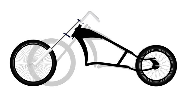Кастом велосипеды чертежи